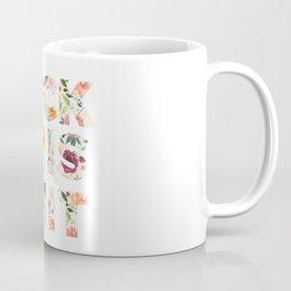 Flowery Language: Fuck This Shit Coffee Mug
