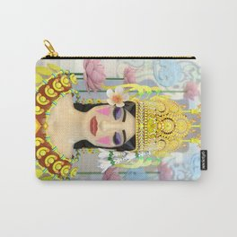 The Meditating Apsara Carry-All Pouch