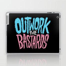 Outwork the Bastards Laptop & iPad Skin