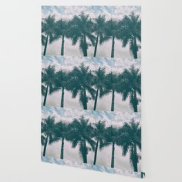 Palm Trees in tropical climate Wallpaper