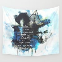 dumbledore Wall Tapestries featuring Dumbledore by Rose's Creation