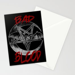 Bad Blood Stationery Cards