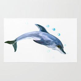 Happy Dolphin Rug