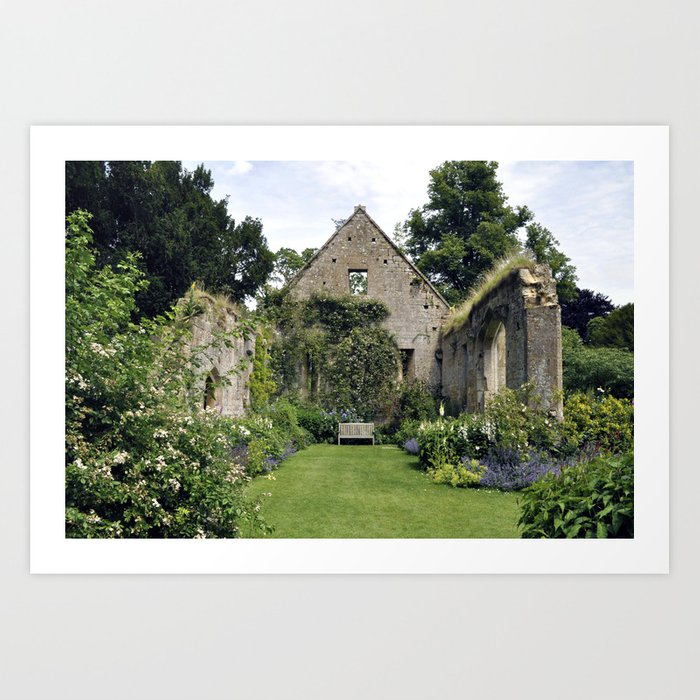 The Tithe Barn Art Print