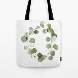 Eucalyptus Circle Tote Bag