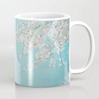 cherry Mugs featuring CHERRY by SUNLIGHT STUDIOS  Monika Strigel