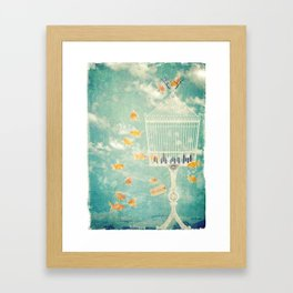 The Cage Framed Art Print