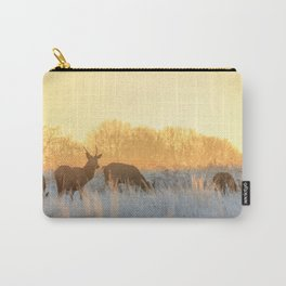 Morning Deer Carry-All Pouch