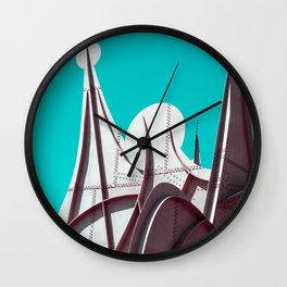 Surreal Montreal #3 Wall Clock