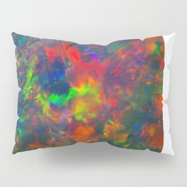 Black Opal from Lighting ridge  Pillow Sham