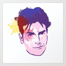 CharlieSheen Art Print