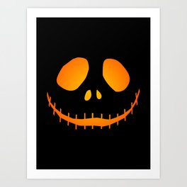 Black Jack Art Print