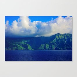 Mysterious Land Canvas Print