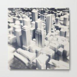 Cityscape Mini Metal Print