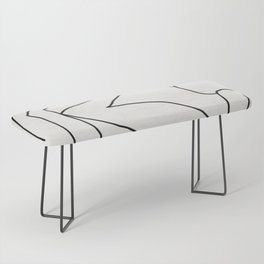 Abstract line art 2 Bench