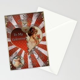 Valentine's Day Vintage Card 120 Stationery Cards