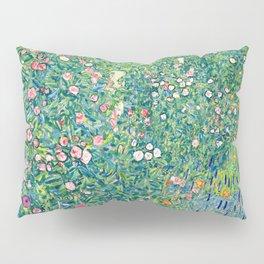 Gustav Klimt Summer Garden  Pillow Sham