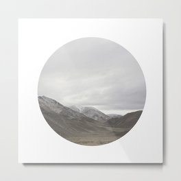 Lindis Pass II Metal Print