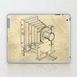 Industrial Farmhouse Blueprint Camera Laptop & iPad Skin