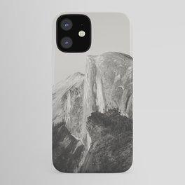 Half Dome V (black and white version) iPhone Case