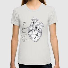A Romantic Heart T-shirt
