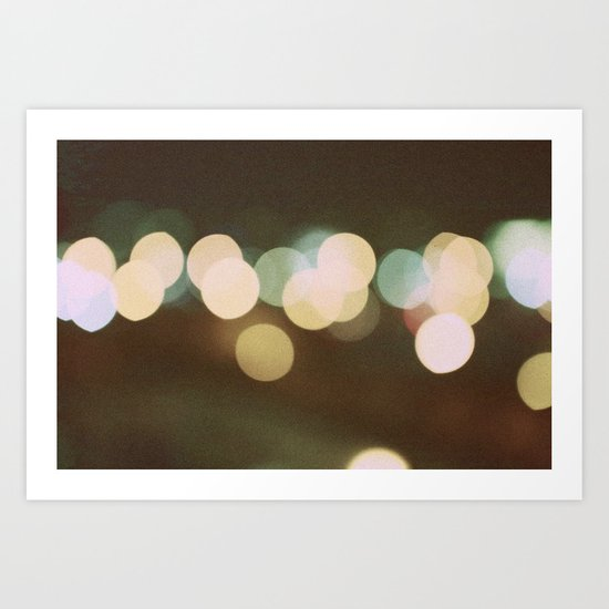 Let Go of The World You Know Art Print