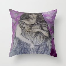 Astarte Dreaming Throw Pillow