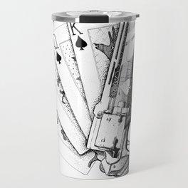 The Ace of Spades Travel Mug