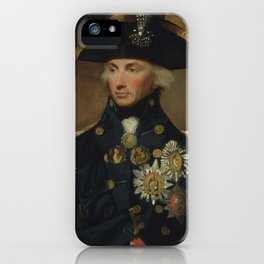 Admiral Horatio Nelson iPhone Case