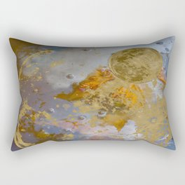 When the Moon fell into the Pond Rectangular Pillow