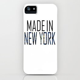 Made In New York iPhone Case