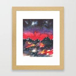 Aspiring Altitudes Framed Art Print
