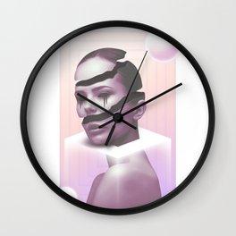 Unseen Sunset Wall Clock