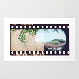 Film End Art Print