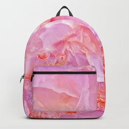 Pink onyx marble Backpack