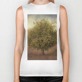 Whimsical Tree Biker Tank