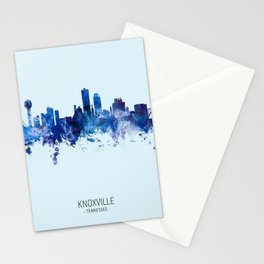 Knoxville Tennessee Skyline Stationery Cards