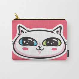 Starry Eyed Cat Carry-All Pouch