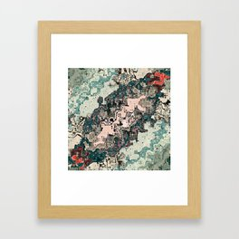 Colorful Textures Pattern 1 Framed Art Print