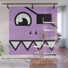 Monsters⁴ : Purple Wall Mural