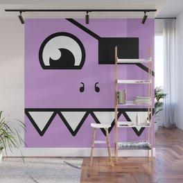 Monsters⁴ : Purple Wall Mural