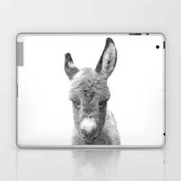 Black and White Baby Donkey Laptop & iPad Skin