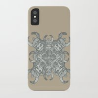 demon iPhone & iPod Cases featuring Demon by Sandeep Barot