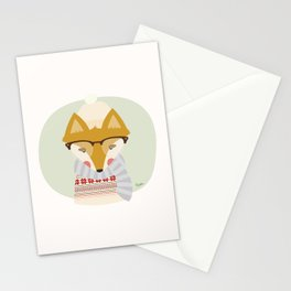 Cold Fox Stationery Cards