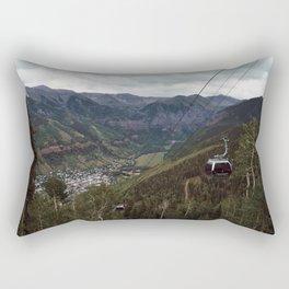 Telluride gondolas Rectangular Pillow