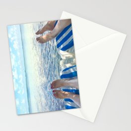 Lovers Toes over Key Largo Stationery Cards