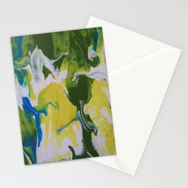 Falling together Stationery Cards