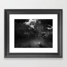 Turtle Swim Framed Art Print