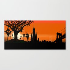 Scarecrows Canvas Print