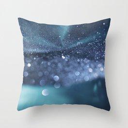 Glitter Bokeh Texture 4 Throw Pillow